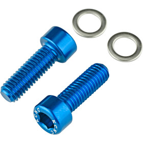 KCNC Bottle Cage Bolts blue